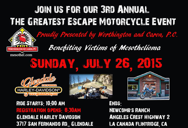 Greatest Escape Motorcycle Event